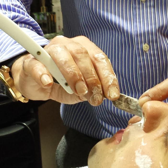 Hadi's Cut Throat Shave - Customer 15/01/2015