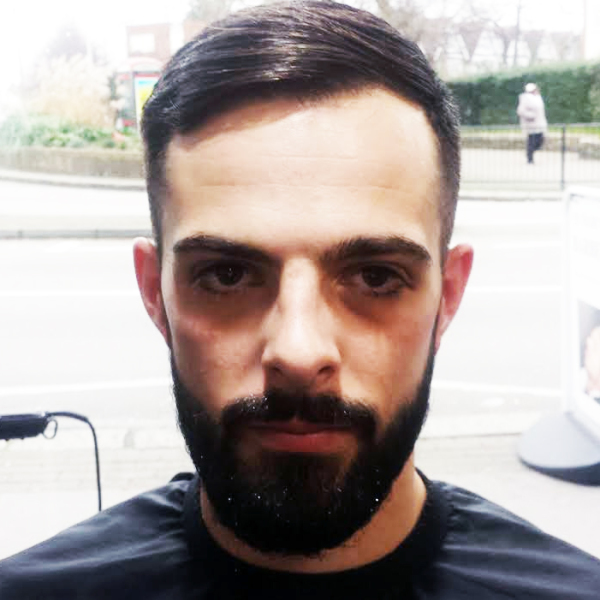 Male Groomers Croydon Beard Design & Trim - Customer 02-01-2015