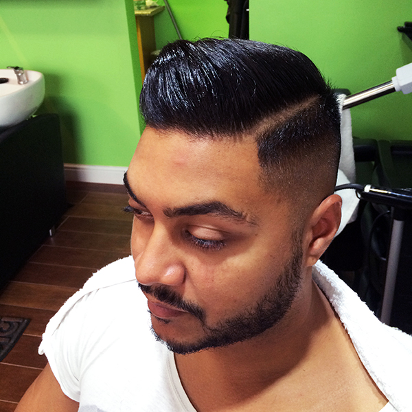 Hair Cut Style Slick Back 1