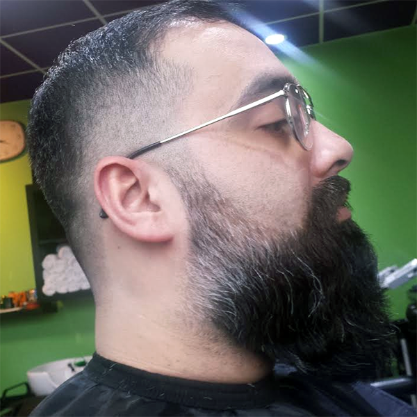 Hadis Male Grooming Croydon - Beard Design and Trim Customer 15/01/2015
