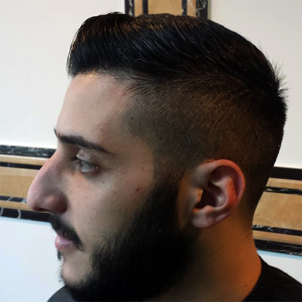 Hadis Male Grooming Croydon - Beard Design & Trim with Cut & Finish Hair Cut