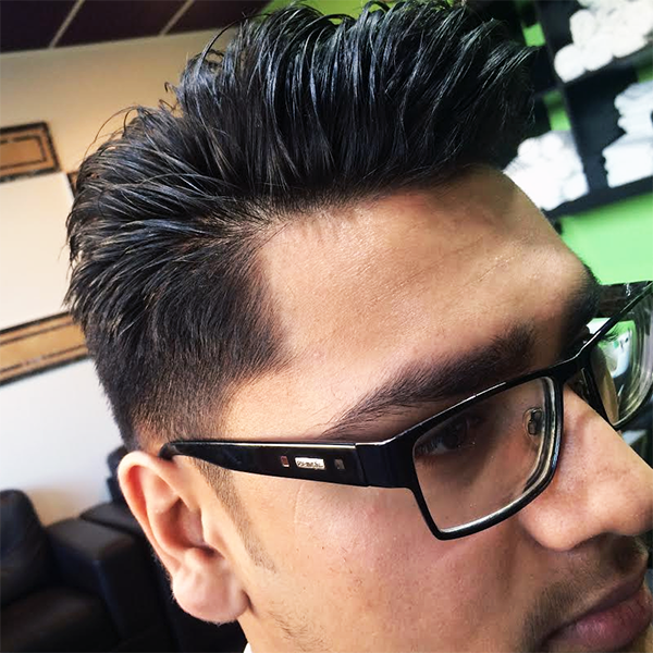 Hadi's Barber Shop Croydon - Stylish Haircut for our Customer on 6/02/2015